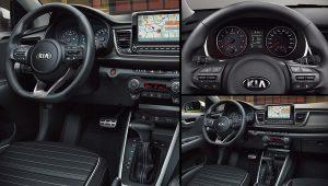 2021 Kia Rio Hatchback Interior