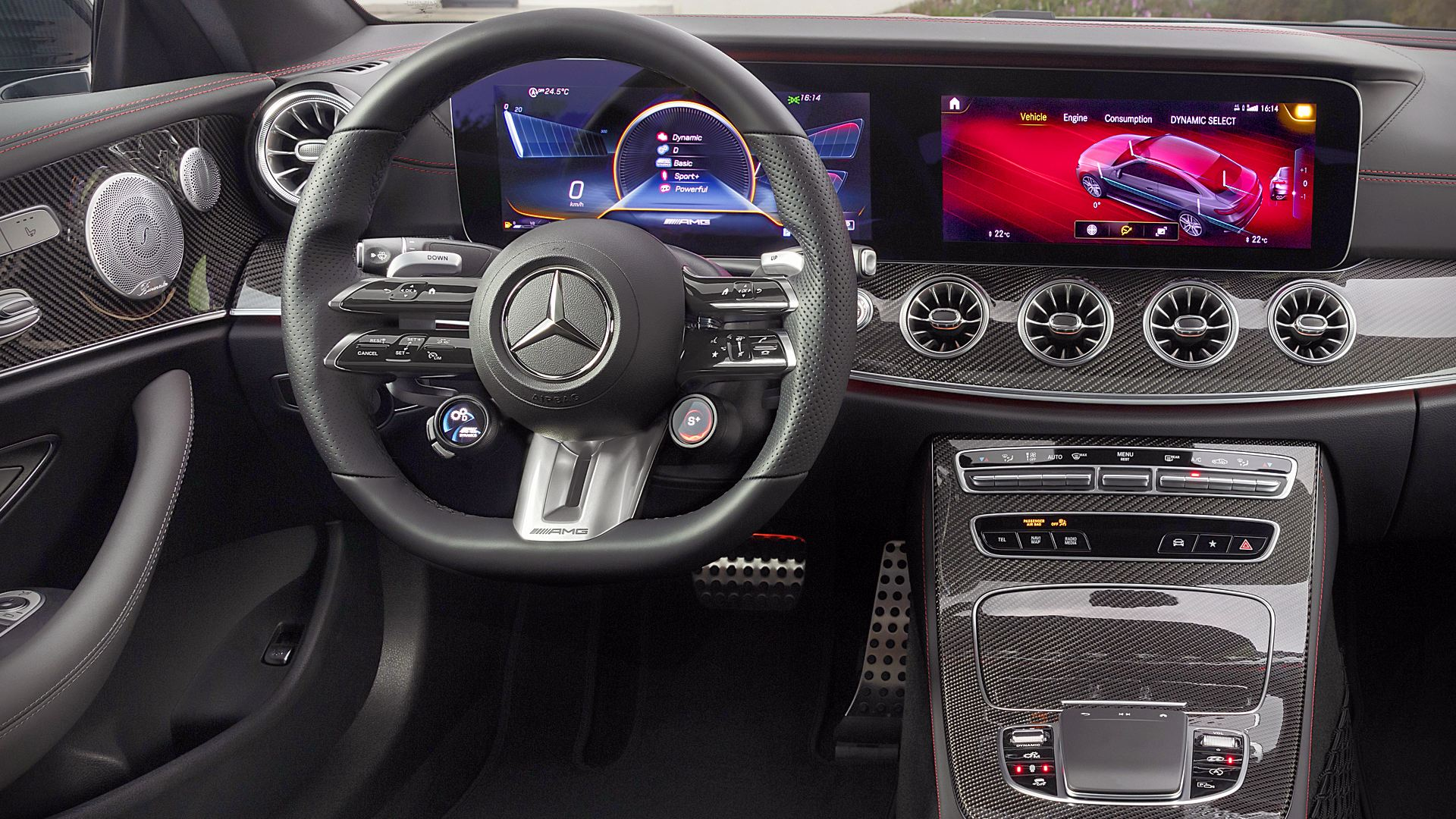 2021 Mercedes AMG E53 Coupe Interior