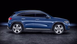 2021 Mercedes GLA 250 4Matic Blue Wallpaper Images