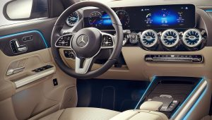 2021 Mercedes GLA 250 4Matic Interior