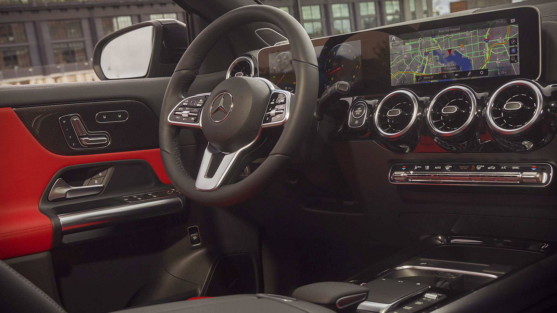 2021 Mercedes GLA 250 Interior