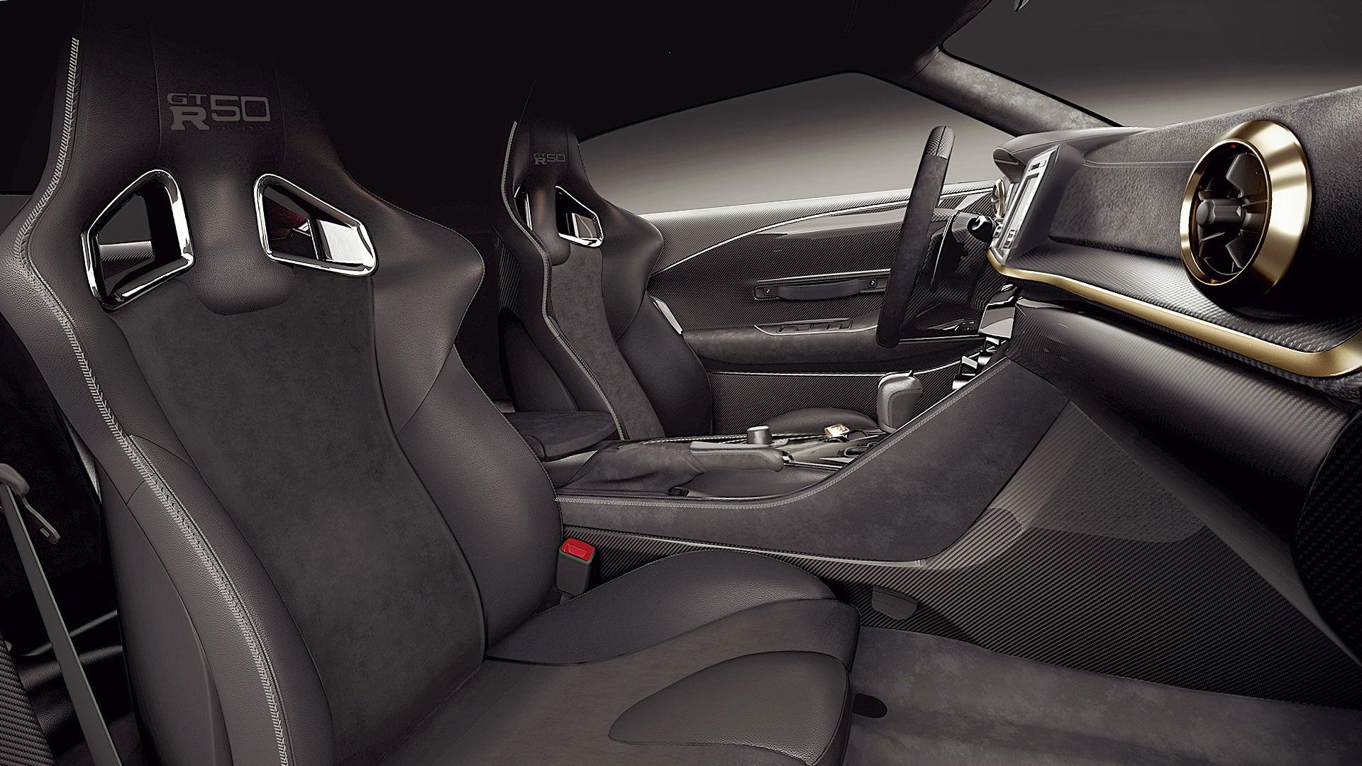 2021 Nissan GT-R50 Italdesign Interior Inside