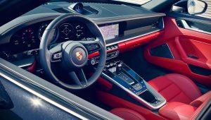 2021 Porsche 911 Targa 4 Interior