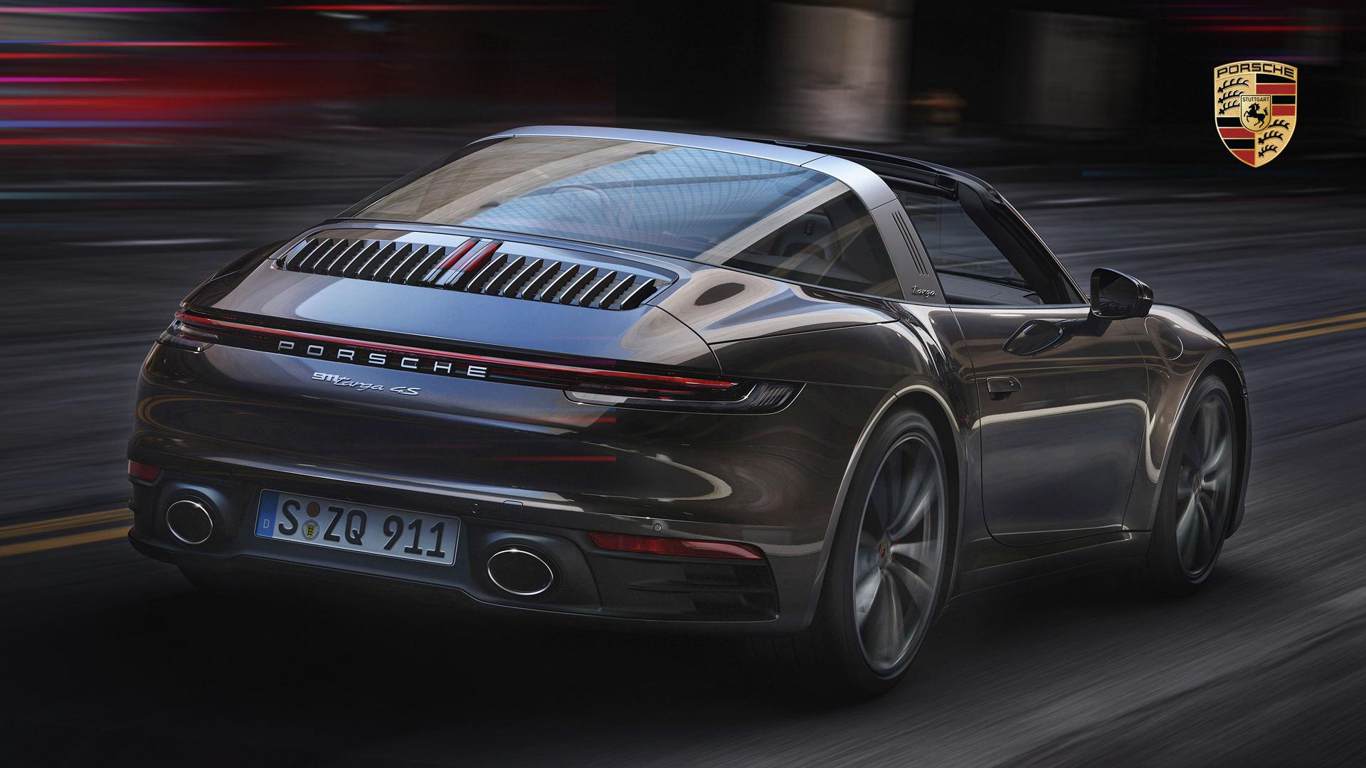 Porsche 911 Targa 4s Wallpaper