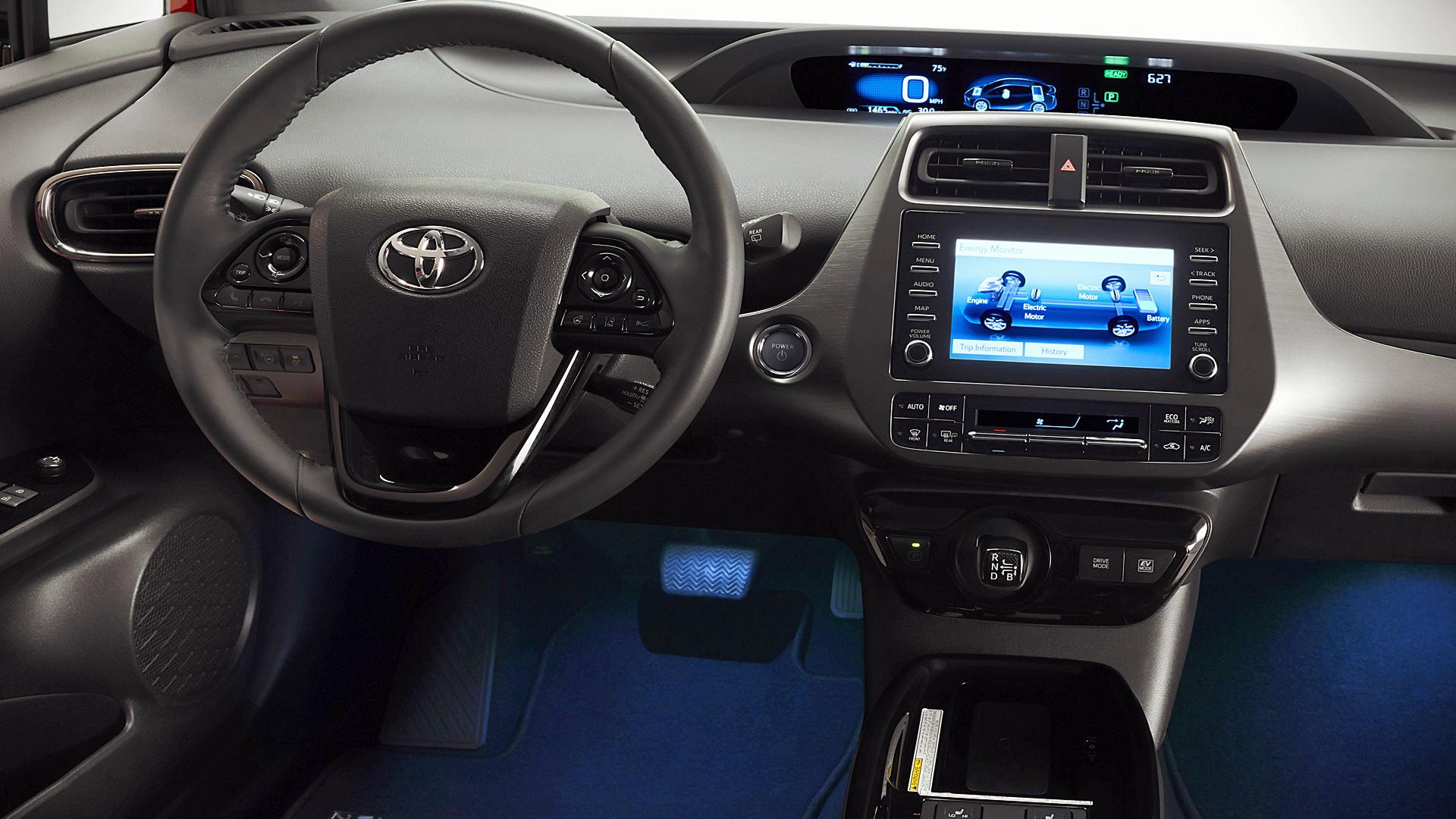 2021 Toyota Prius Inside Interior