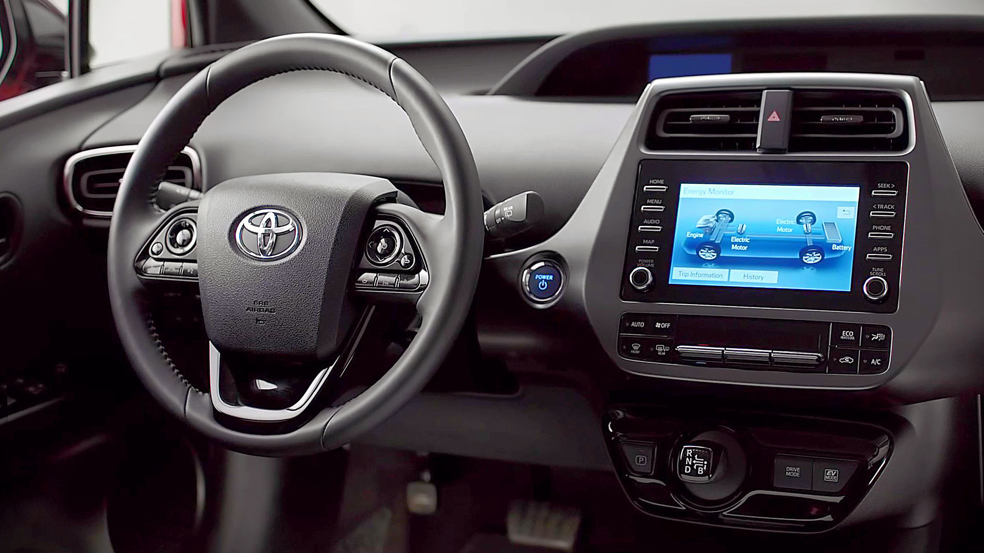 2021 Toyota Prius Hybrid Interior