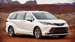 2021 Toyota Sienna Pictures Photos