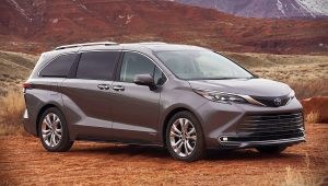 2021 Toyota Sienna Hybrid Platinum