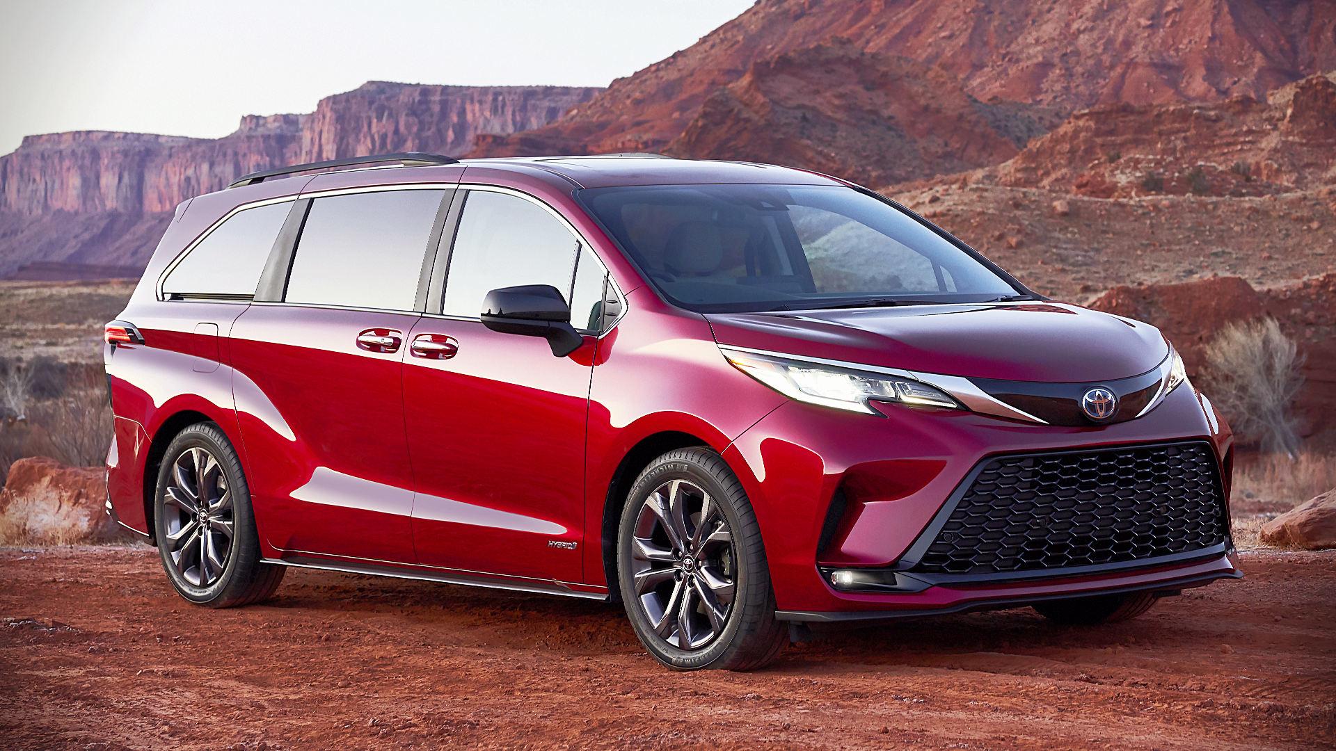 2021 Toyota Sienna Hybrid XSE