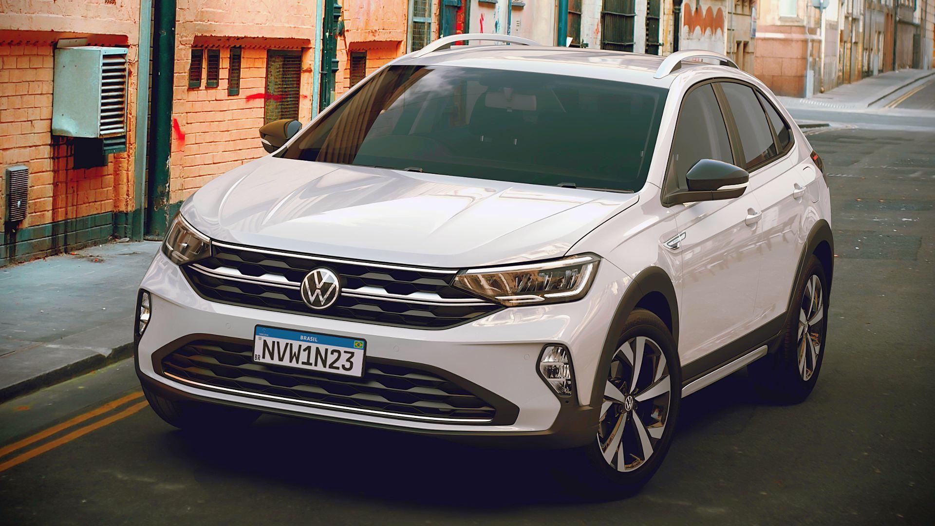 2021 Volkswagen Nivus White SUV Images