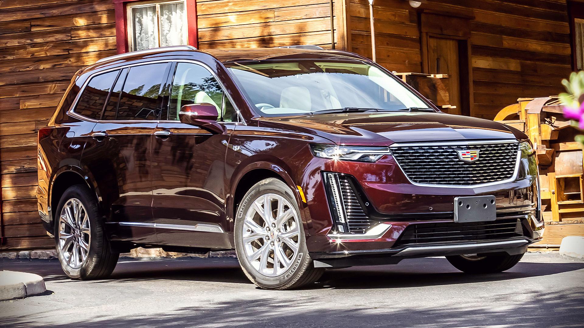 2020 Cadillac XT6 Premium Luxury Images Pictures