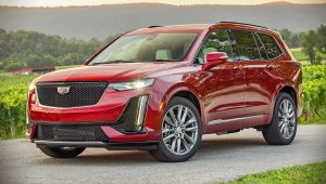 2020 Cadillac XT6 Sport Red Images