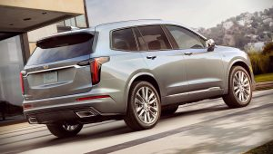 2020 Cadillac SUV XT6 Sport Pictures Images