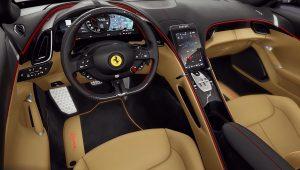 2020 Ferrari Roma Inside Interior