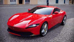 2020 Ferrari Roma Red Pictures Images