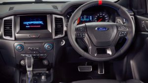 2019 Ford Ranger Raptor Interior Images