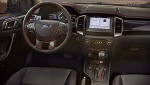 2021 Ford Ranger Thunder Interior