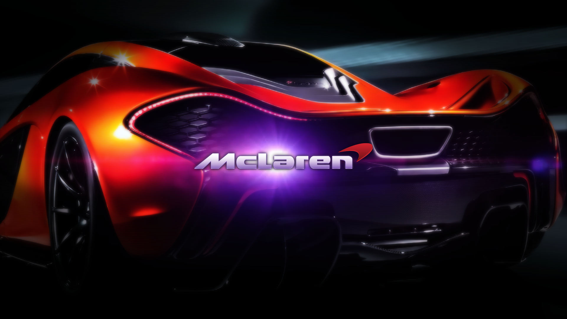 McLaren P1 Background