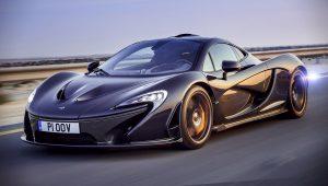McLaren P1 Black Images