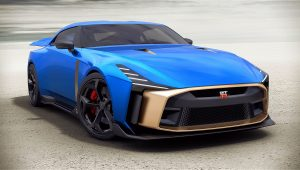 Nissan GT-R50 Italdesign Wallpaper