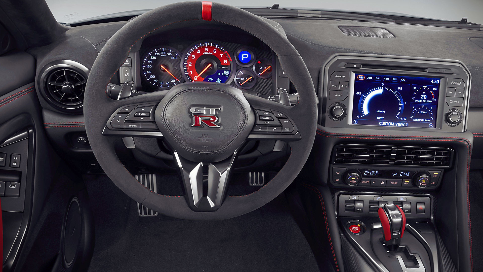 2020 Nissan GTR Interior Images