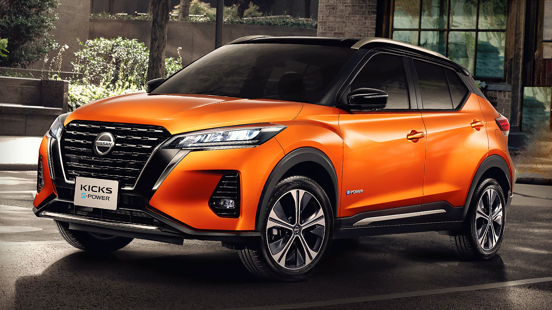 Nissan Kicks E-Power 2020 Photos