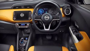 Nissan Kicks Interior 2020