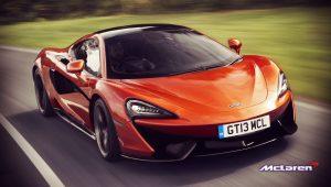 Sports Car Wallpaper McLaren 570S