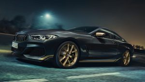 2020 BMW 8 Series Black Coupe Pictures Wallpaper