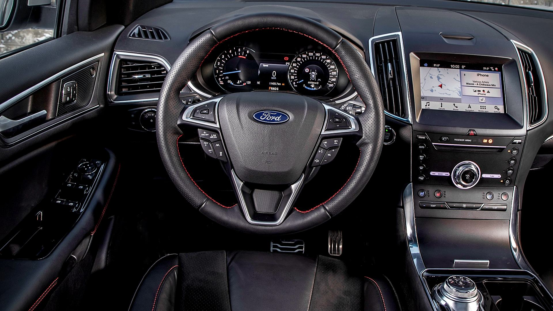 2020 Ford Edge ST Interior Images