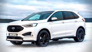 2020 Ford Edge ST White