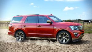 2020 Ford Expedition King Ranch Red