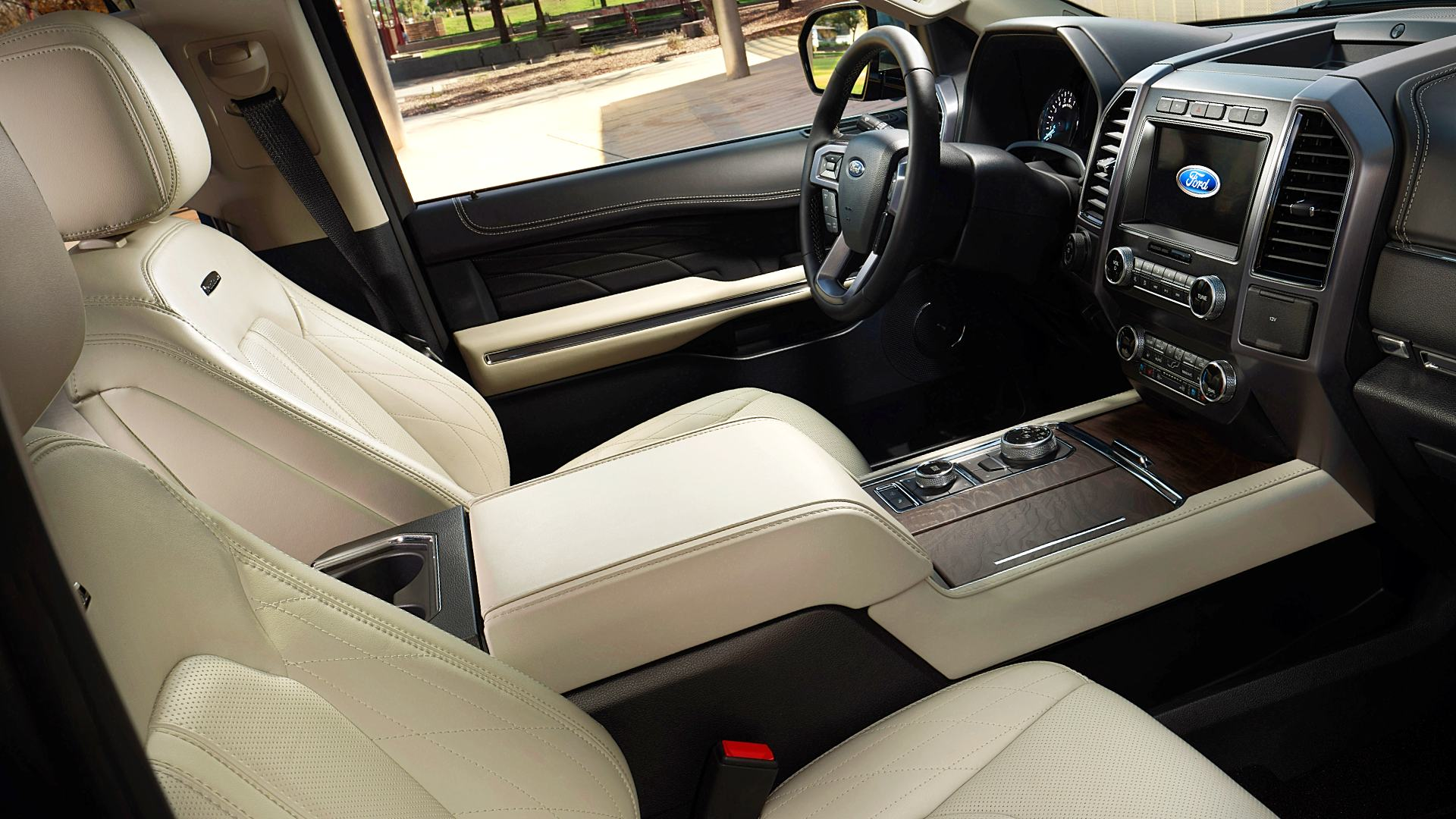 2020 Ford Expedition Platinum Inside Interior Images