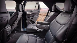 2020 Ford Explorer ST Black Interior