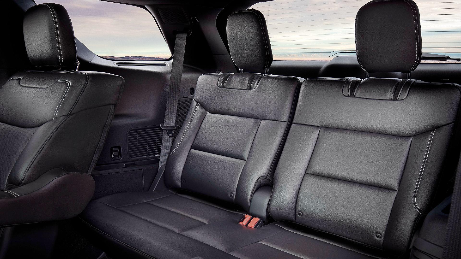 2020 Ford Explorer ST Inside Interior
