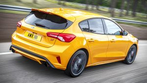 2020 Ford Focus ST Yellow Pictures