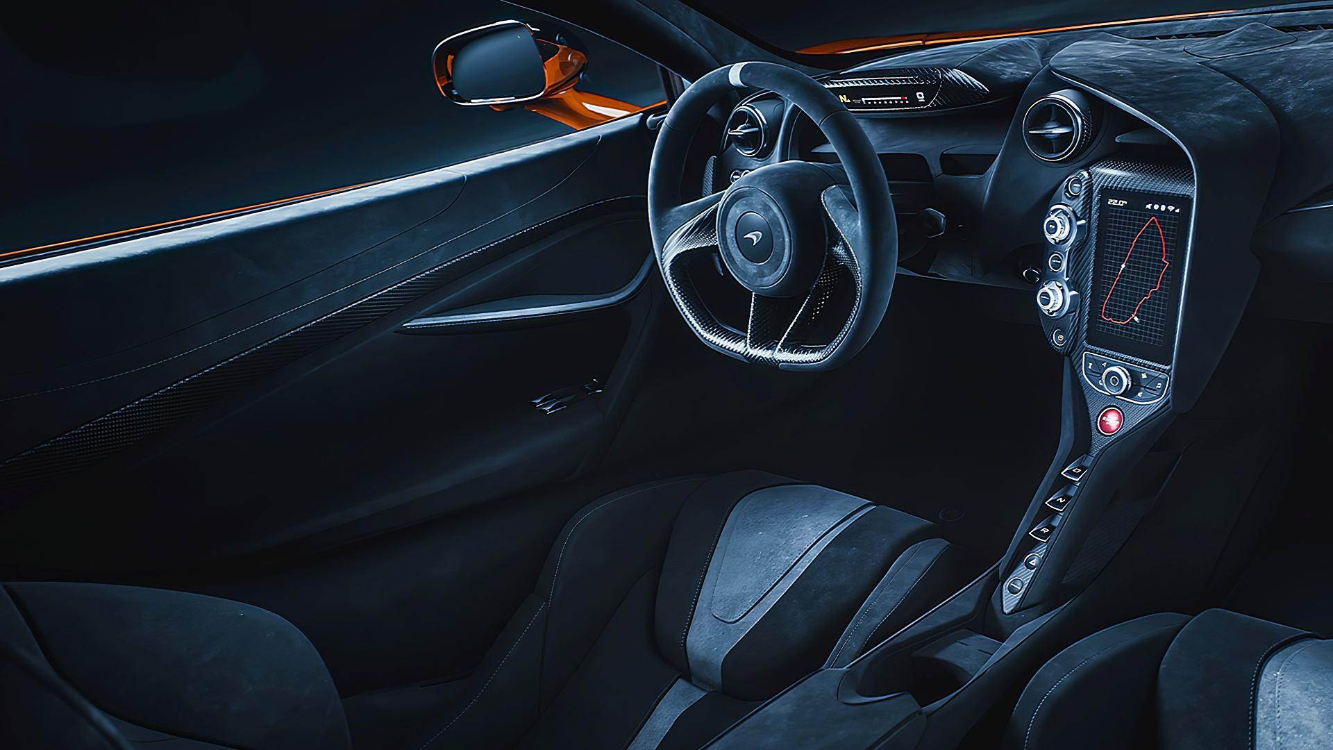 2020 McLaren 720S Le Mans Inside Interior