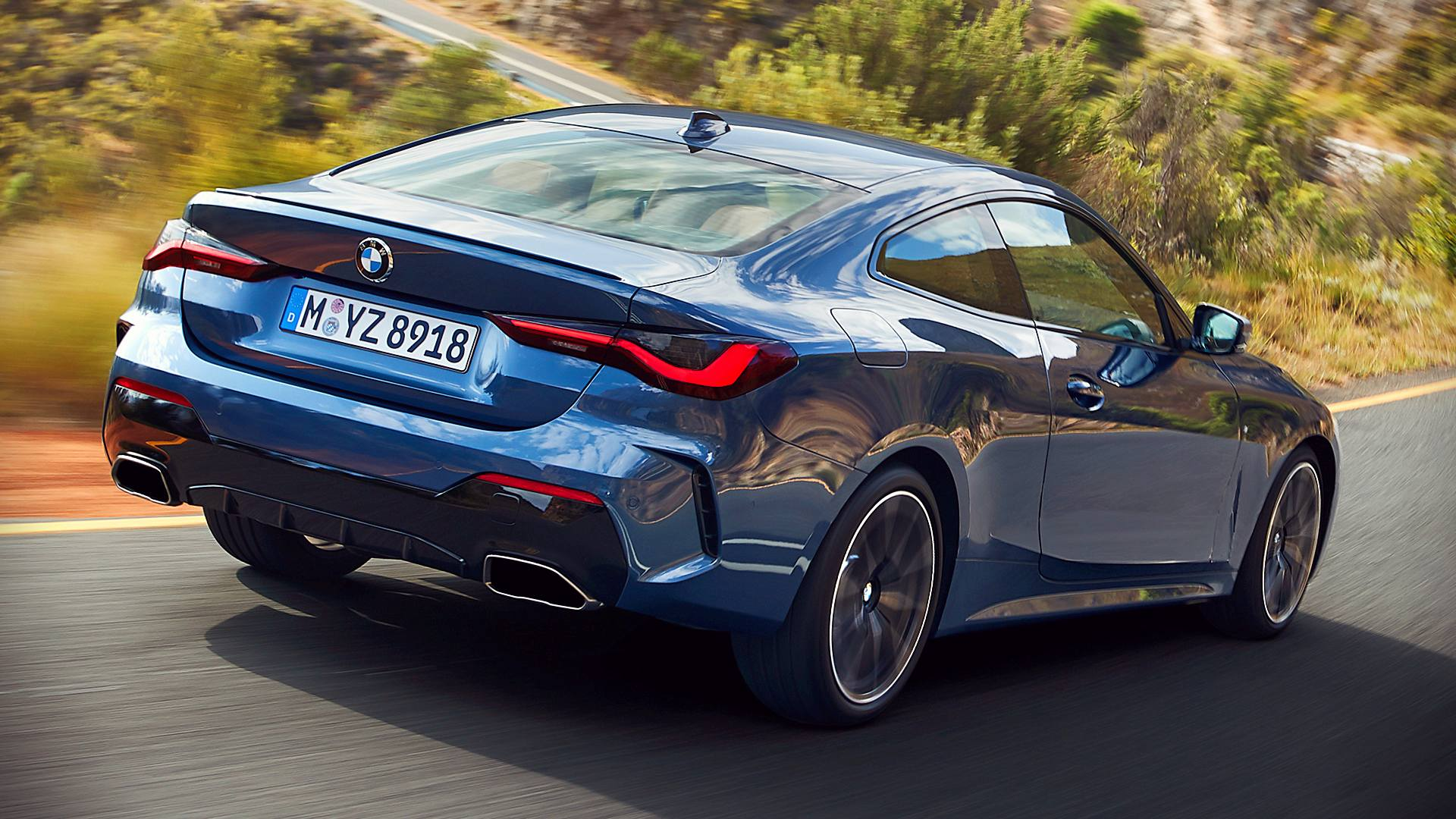 2021 BMW 4 Series Coupe Images
