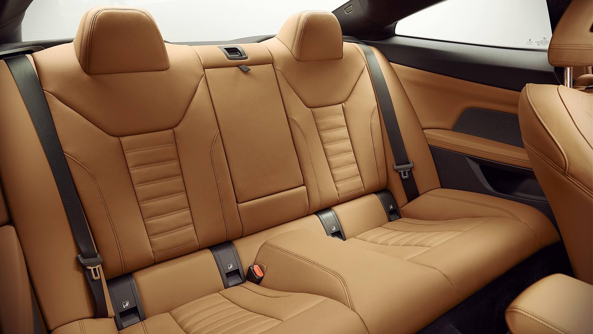2021 BMW 4 Series Coupe Interior