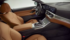 2021 BMW 4-Series Interior Images