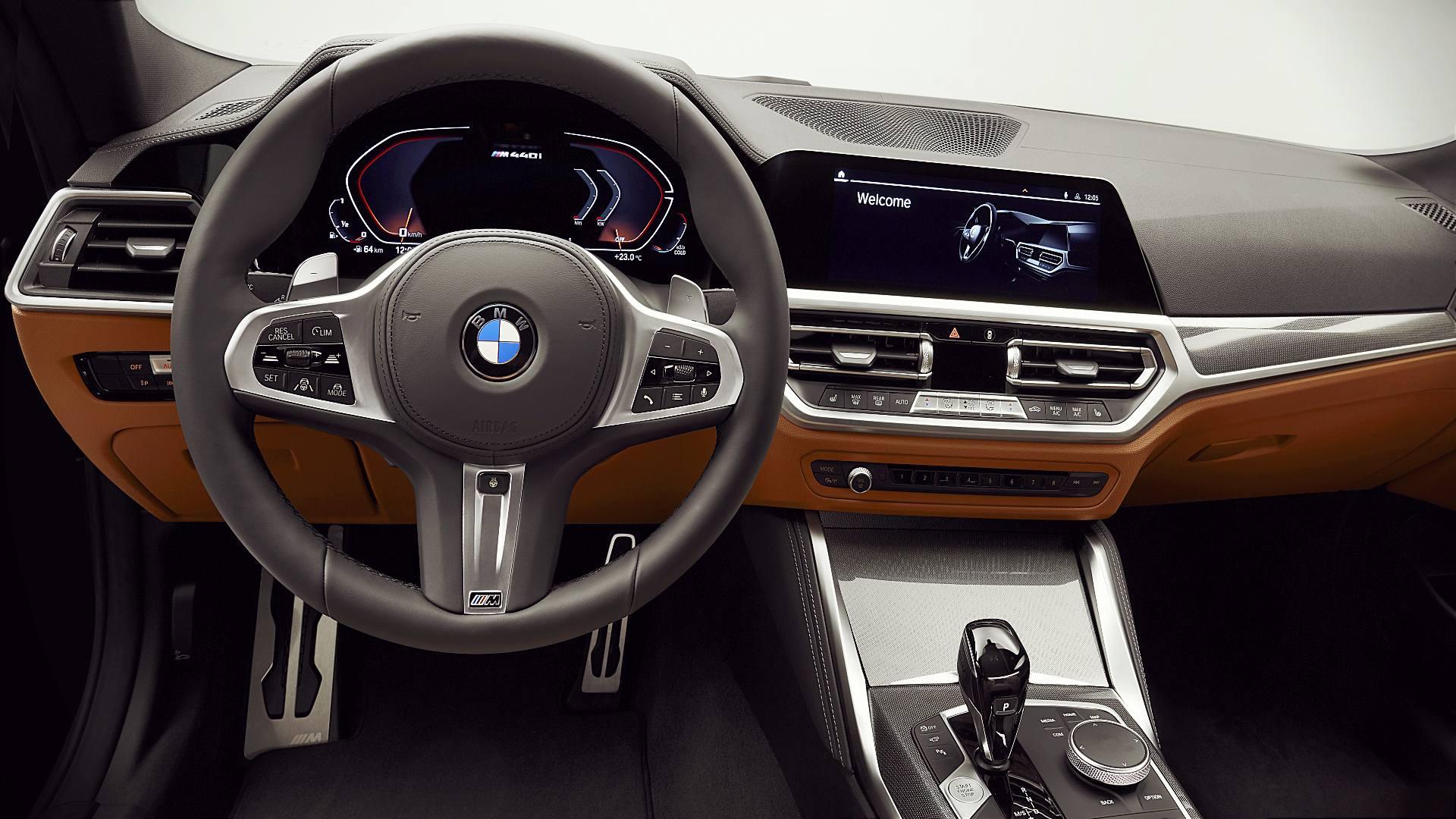 2021 BMW 4-Series Interior