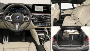 2021 BMW 640i GT Interior