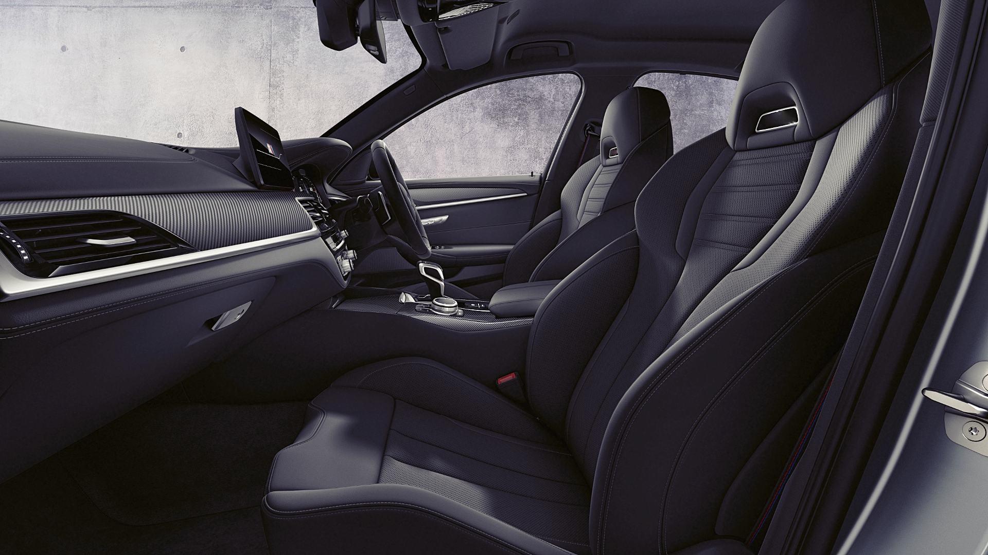 2021 BMW M5 Inside Interior