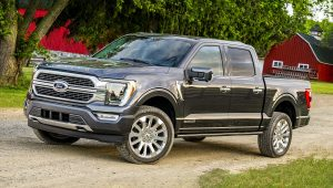 2021 Ford F150 Black Colors