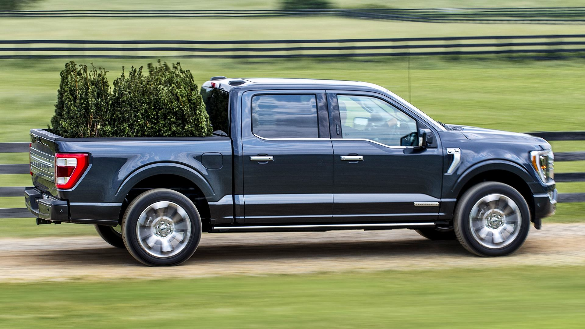 2021 Ford F150 Supercrew Limited Black