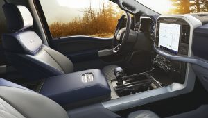 2021 Ford F150 Inside Interior