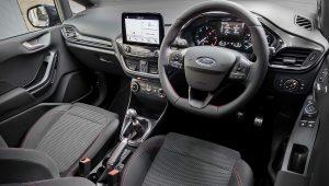 2021 Ford Fiesta Hybrid Interior