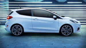 2021 Ford Fiesta Hybrid White Images