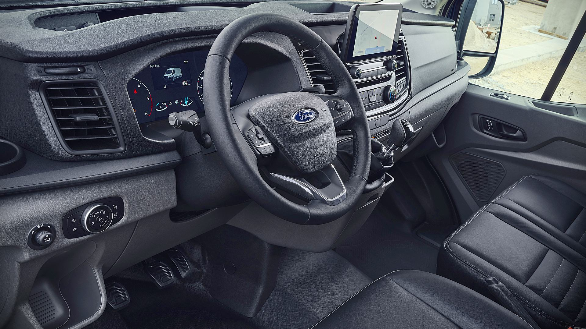 2021 Ford Transit Van Interior