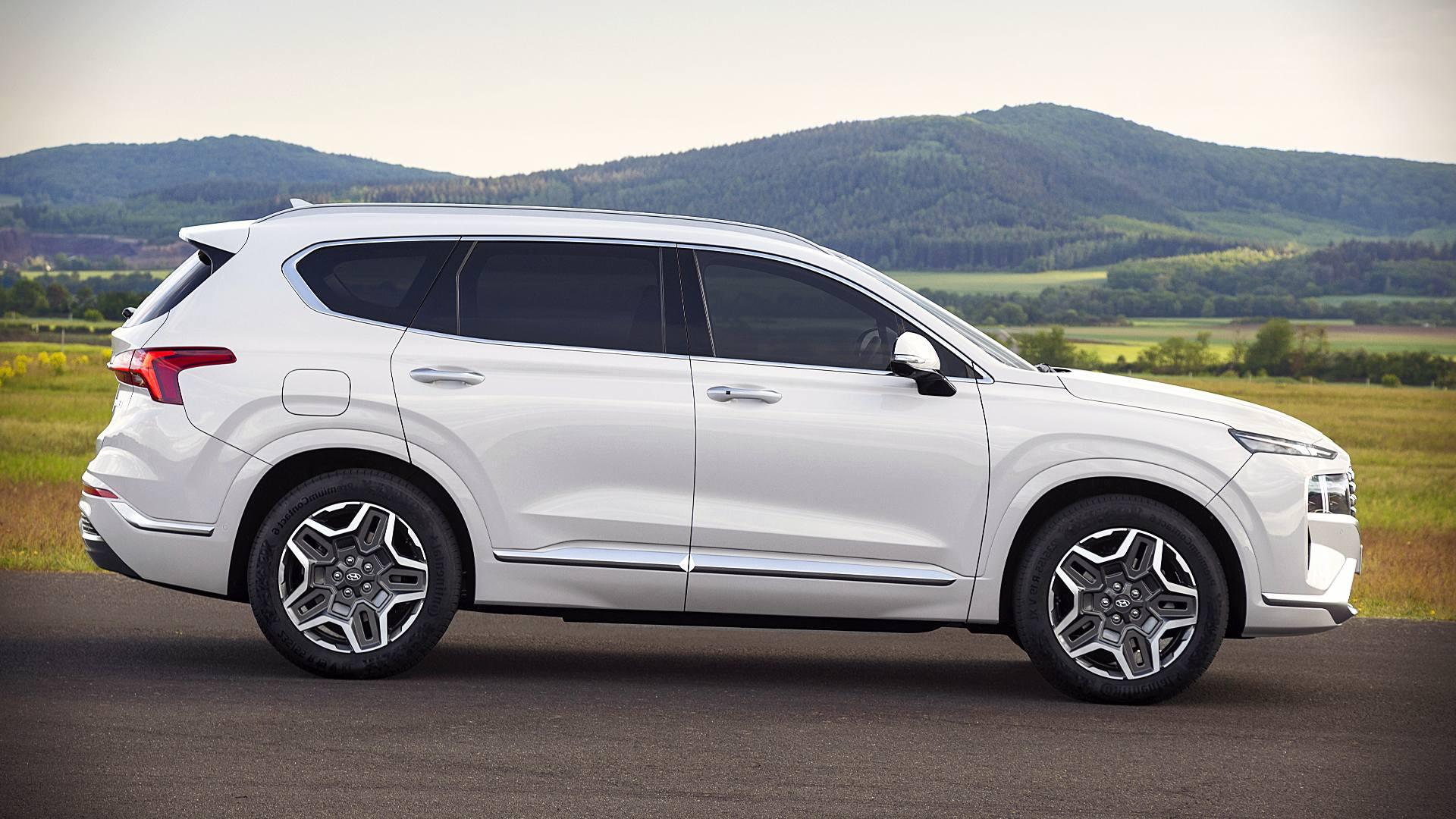 2021 Hyundai Santa Fe Hybrid Images